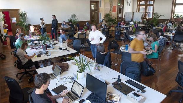 coworking espaço compartilhado